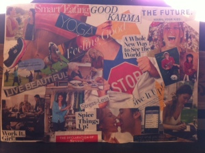 KitKat's 2012 Vision Board