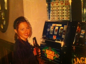 My 20-year old self would be glad to know I am still making time for friends,  fun - and slots.