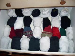 folded-socks